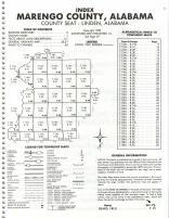 Index Map, Marengo County 1983